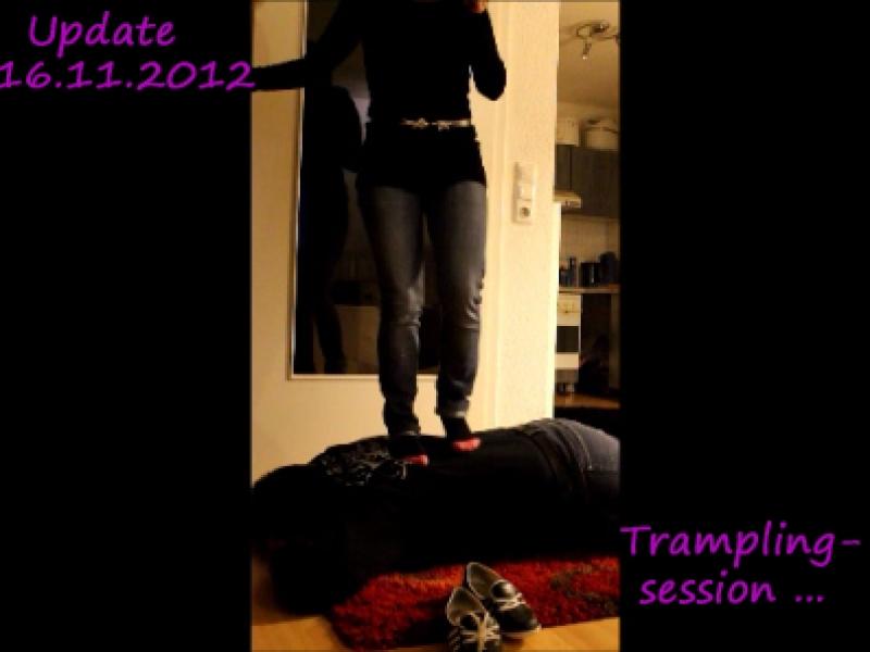 Tramplingsession